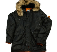 Куртка HUSKY DENALI BLACK/ORANGE