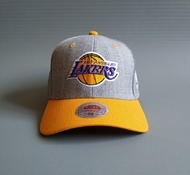 19021867 Бейсболка LOS ANGELES LAKERS HEATHER STRETCH FIT NBA M&N