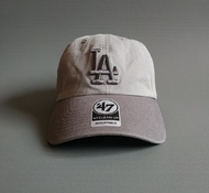 Бейсболка Los Angeles Dodgers CLEAN UP TWO TONE '47 Brand