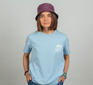 Футболка KUSTO Logo T-Shirt Beautiful цвет Blue